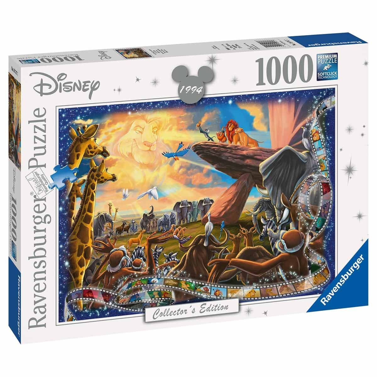 Ravensburger Collectors Edition Lion King Puzzle 1000 Pieces