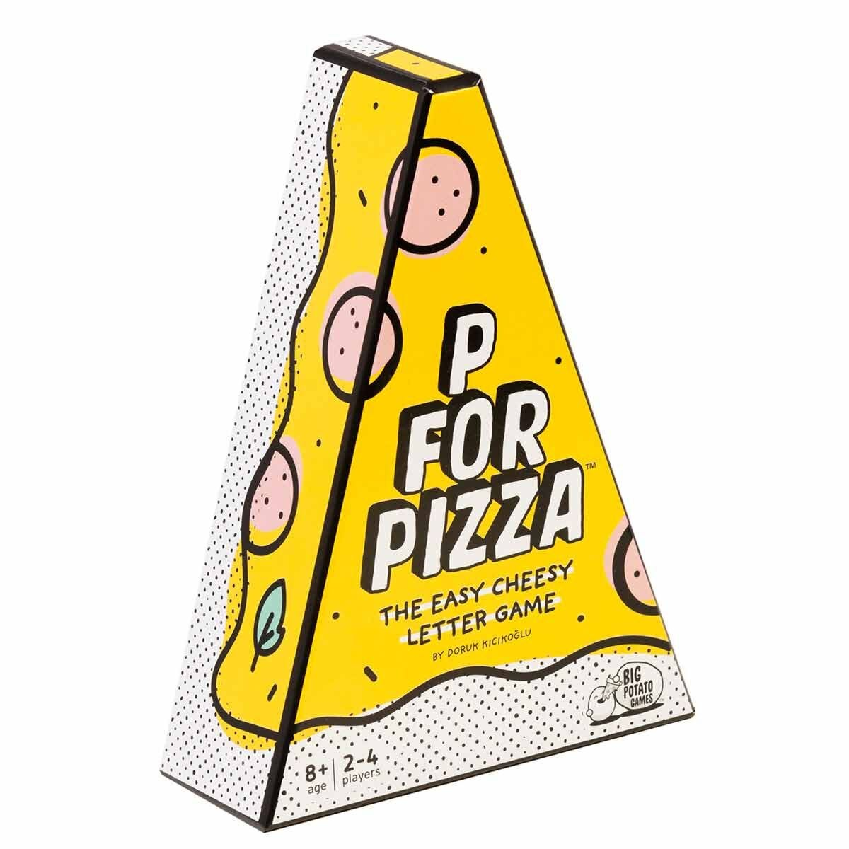 P for Pizza Card Game