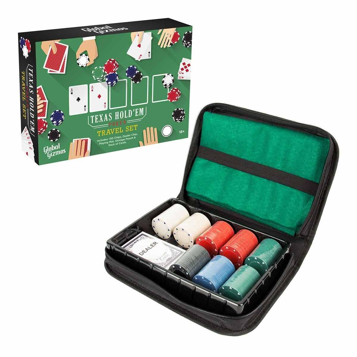 Texas Hold Em Travel Poker Set