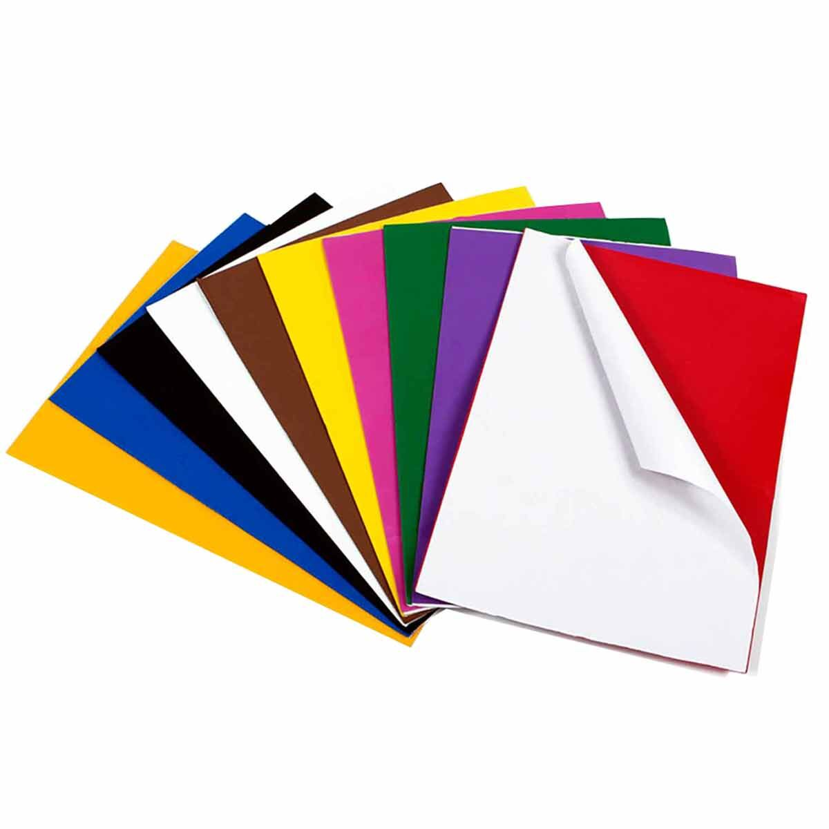 Creation Station Peel and Stick Craft Foam Sheets