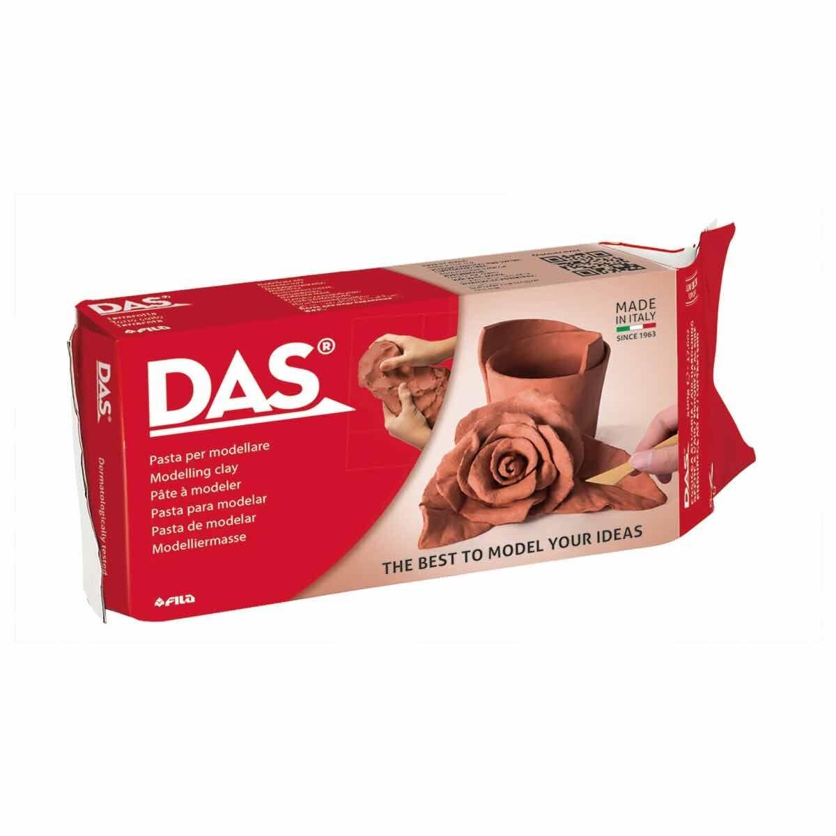 DAS Air Drying Clay 1kg Terracotta