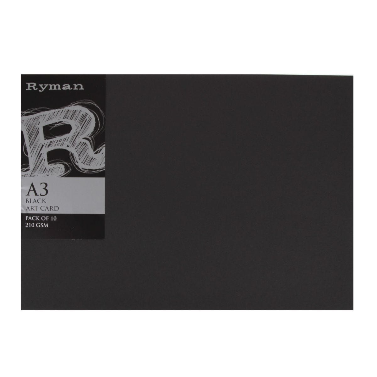 Ryman Art Card A3 210gsm Pack of 10