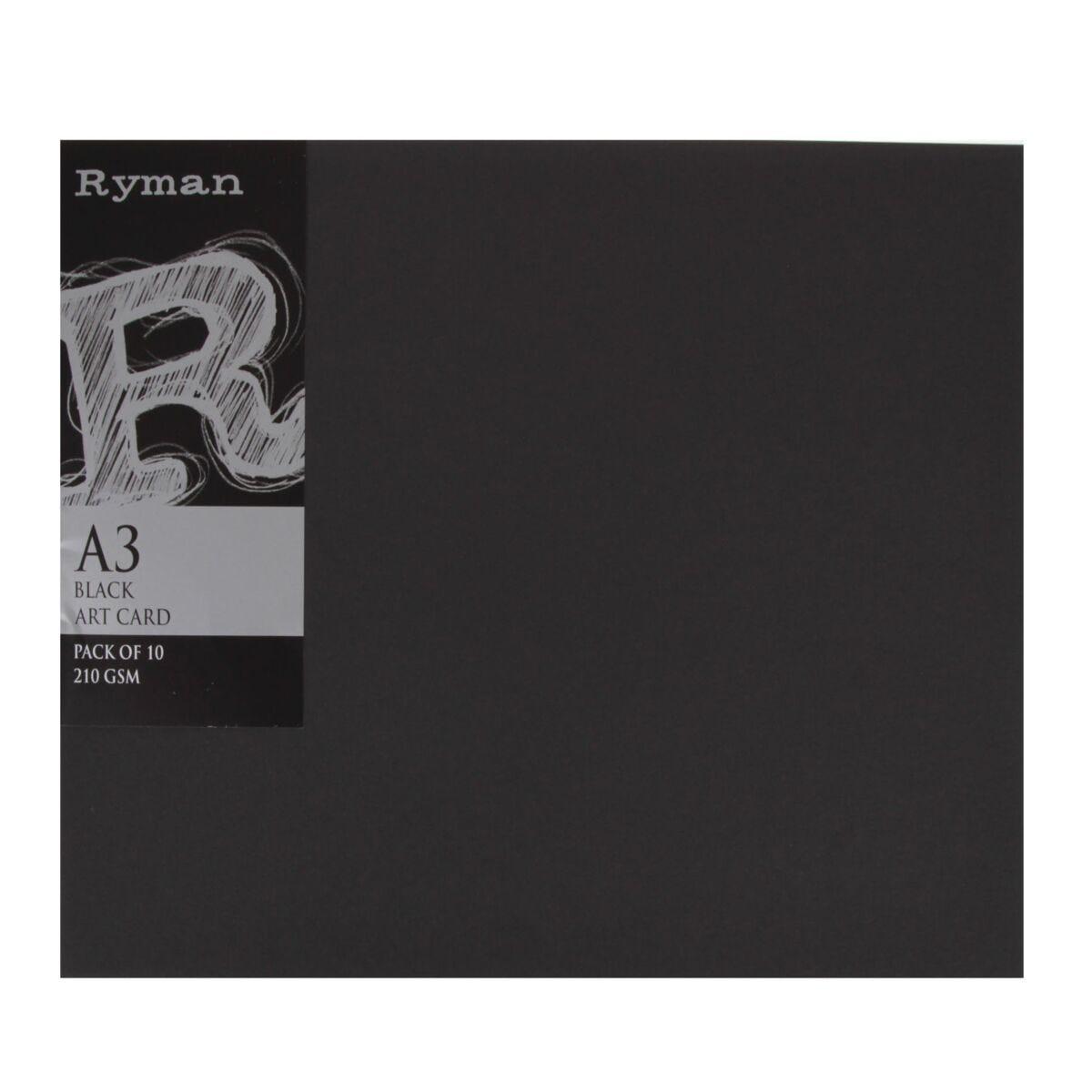 Ryman Artcard A3 210 gsm Pack of 100