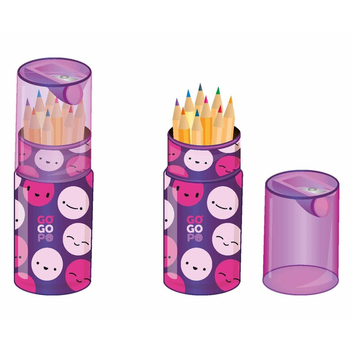 GOGOPO Colouring Pencils Pack of 12