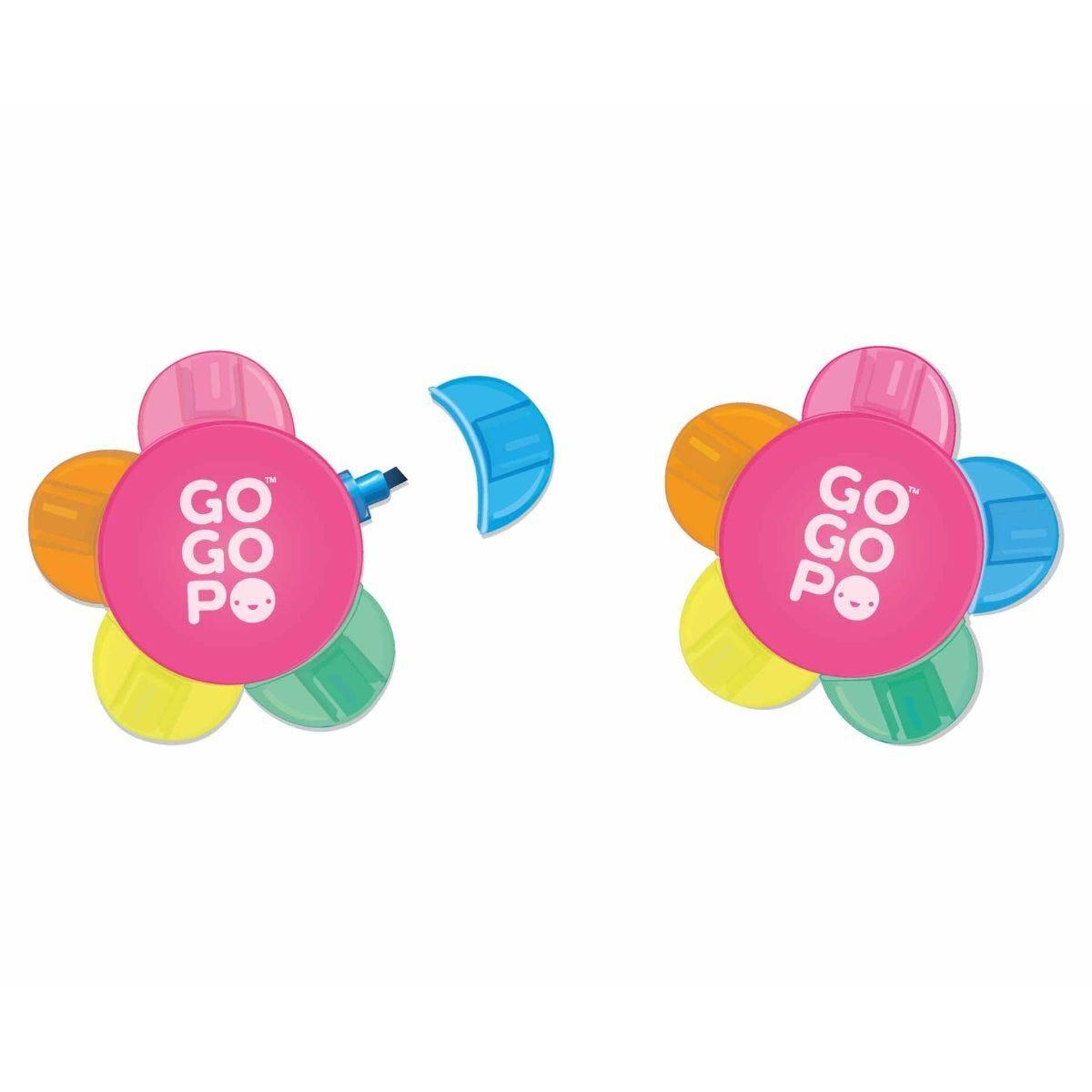 GOGOPO Flower Highlighter Pen