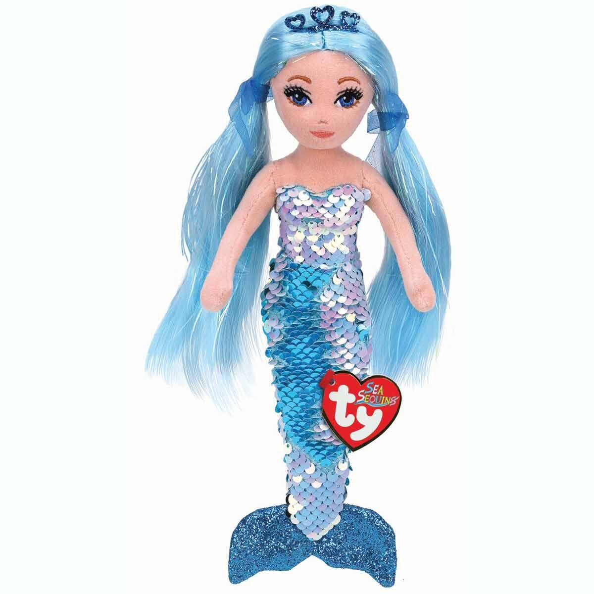 ty Indigo Sea Sequin Mermaid Regular