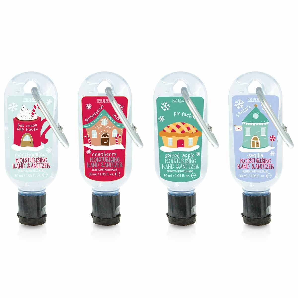 MAD Beauty North Pole Clip and Clean Sanitiser