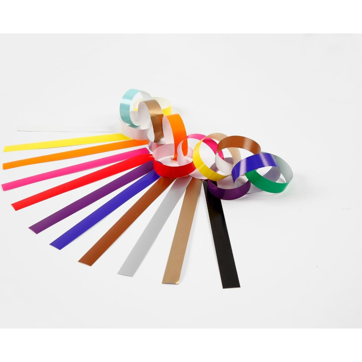 Paper Chains Pack of 400 Assorted Colours