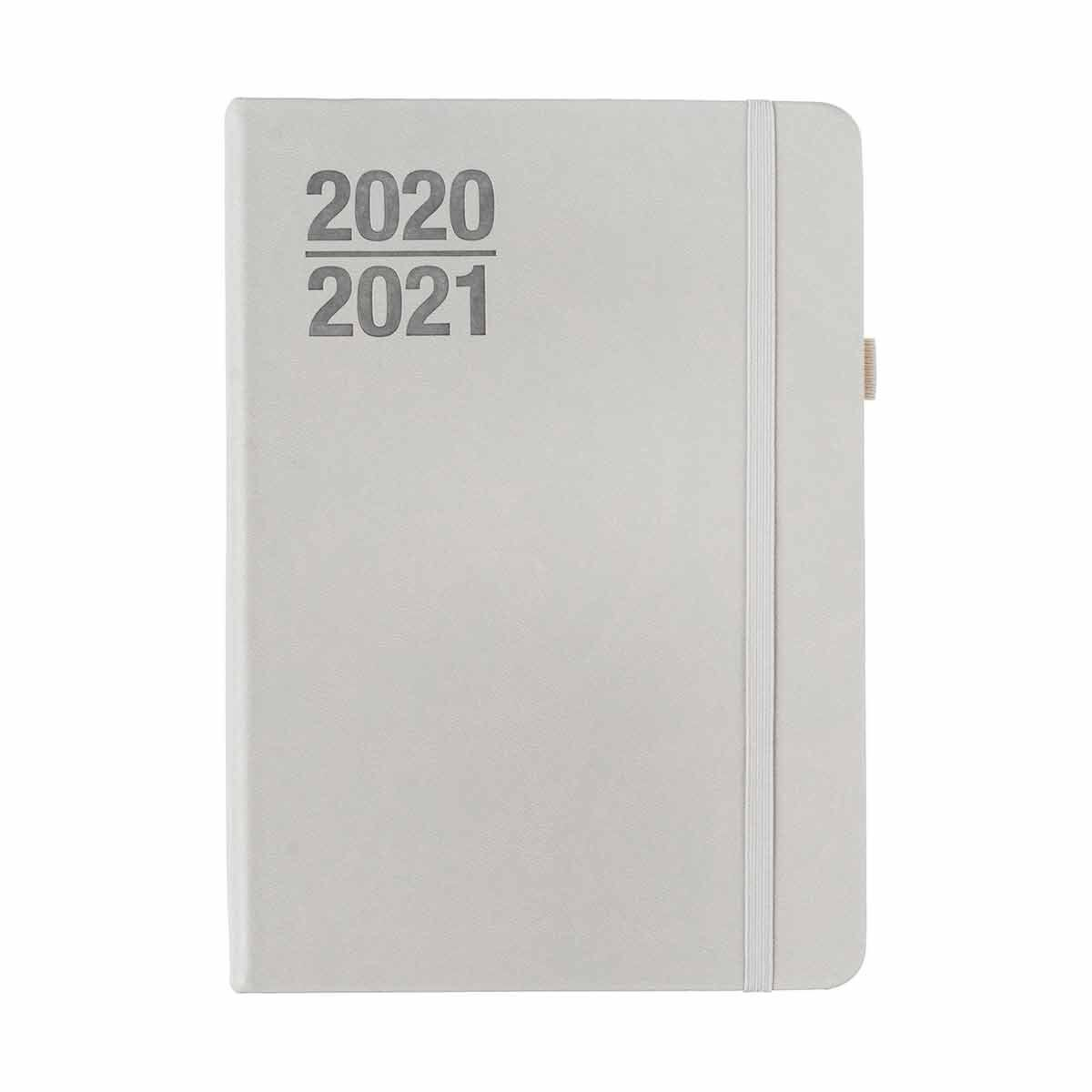 Ryman Soft Cover Diary Page a Day A5 2020-2021 Grey