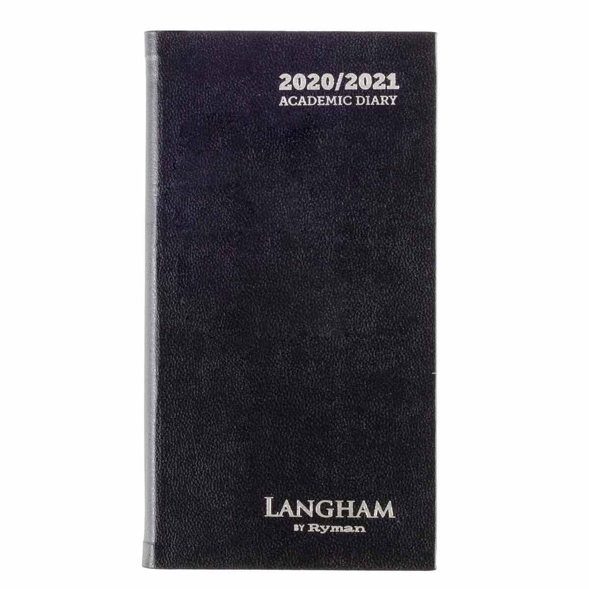 Langham Diary Week to View Slim 2020-2021