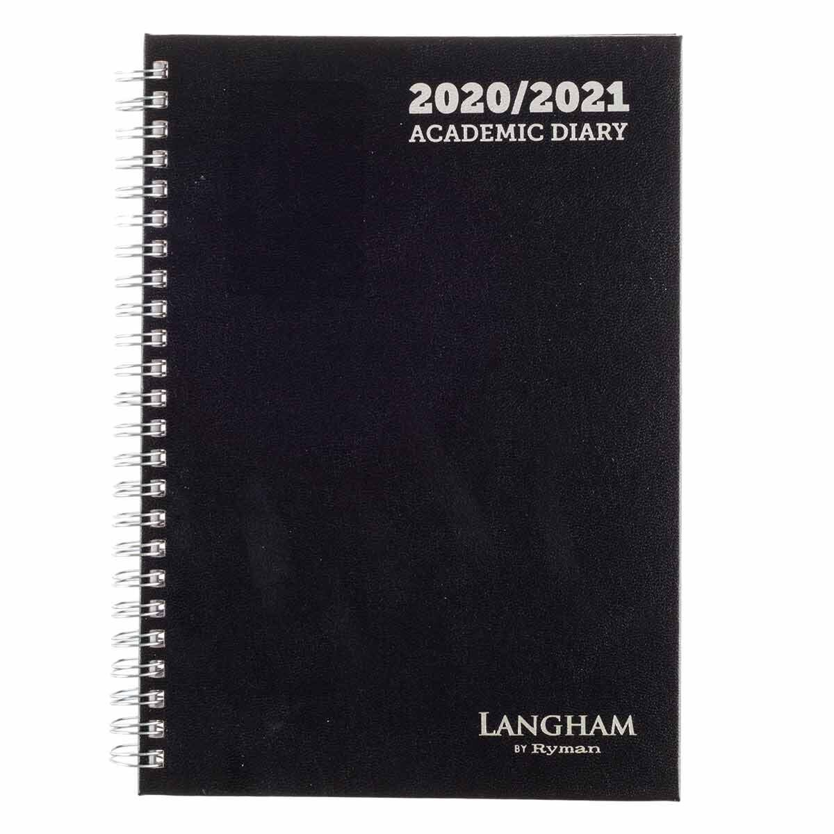 Langham Wiro Diary Week to View A5 2020-2021