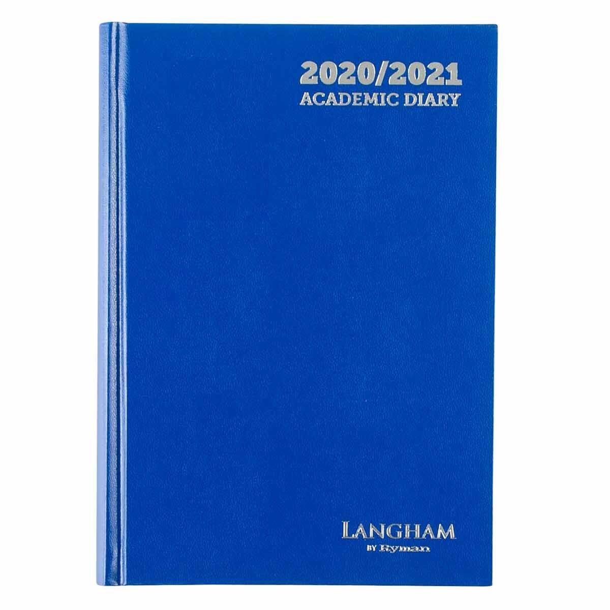 Langham Appointments Diary Page a Day A5 2020-2021 Navy