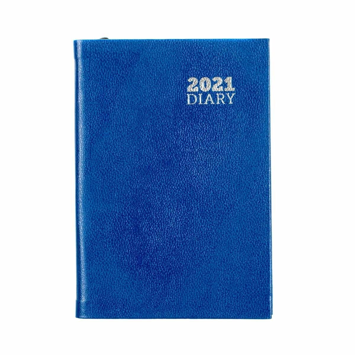 Ryman Diary Week to View Pocket 2021 Blue