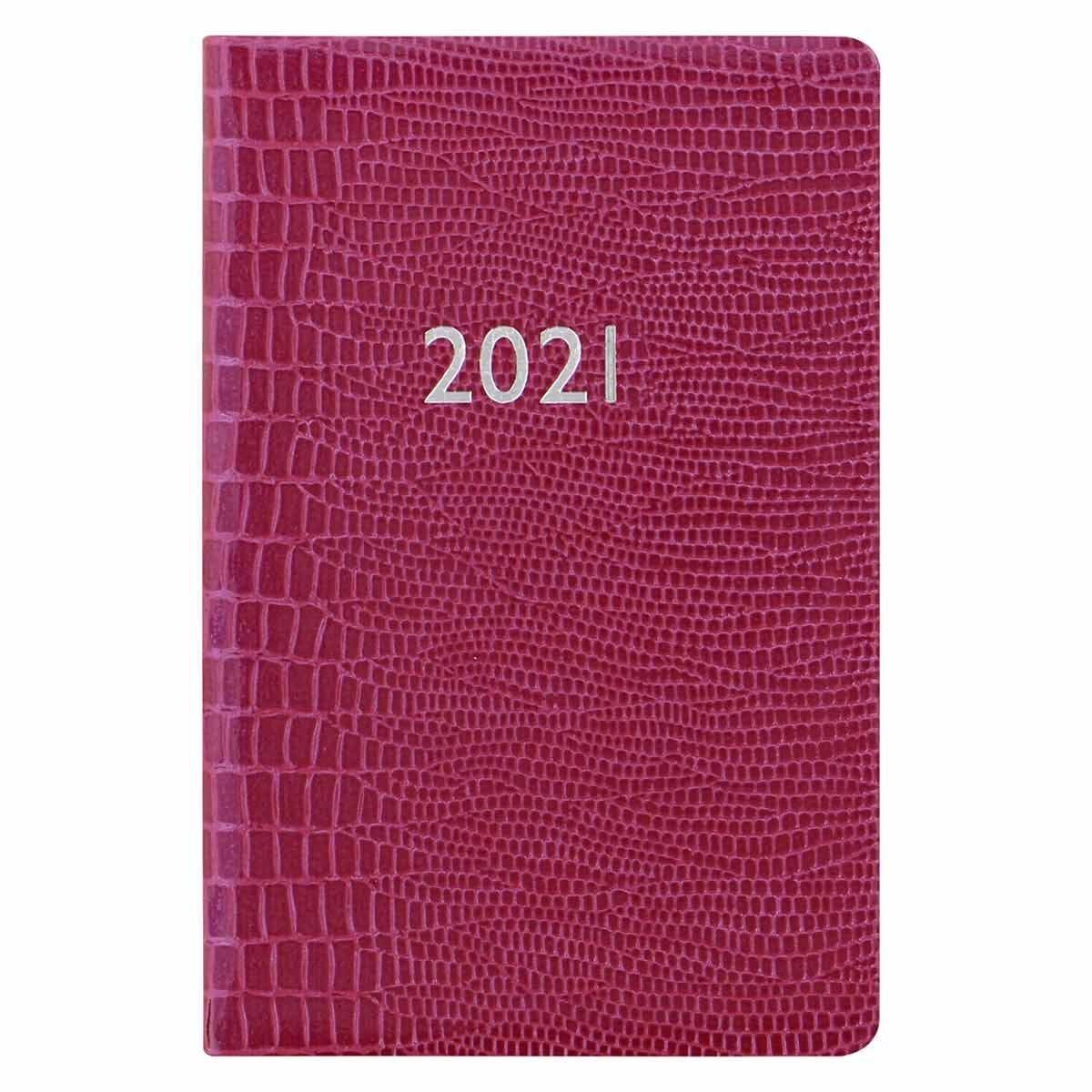 Letts Iguana Diary Week to View Pocket 2021