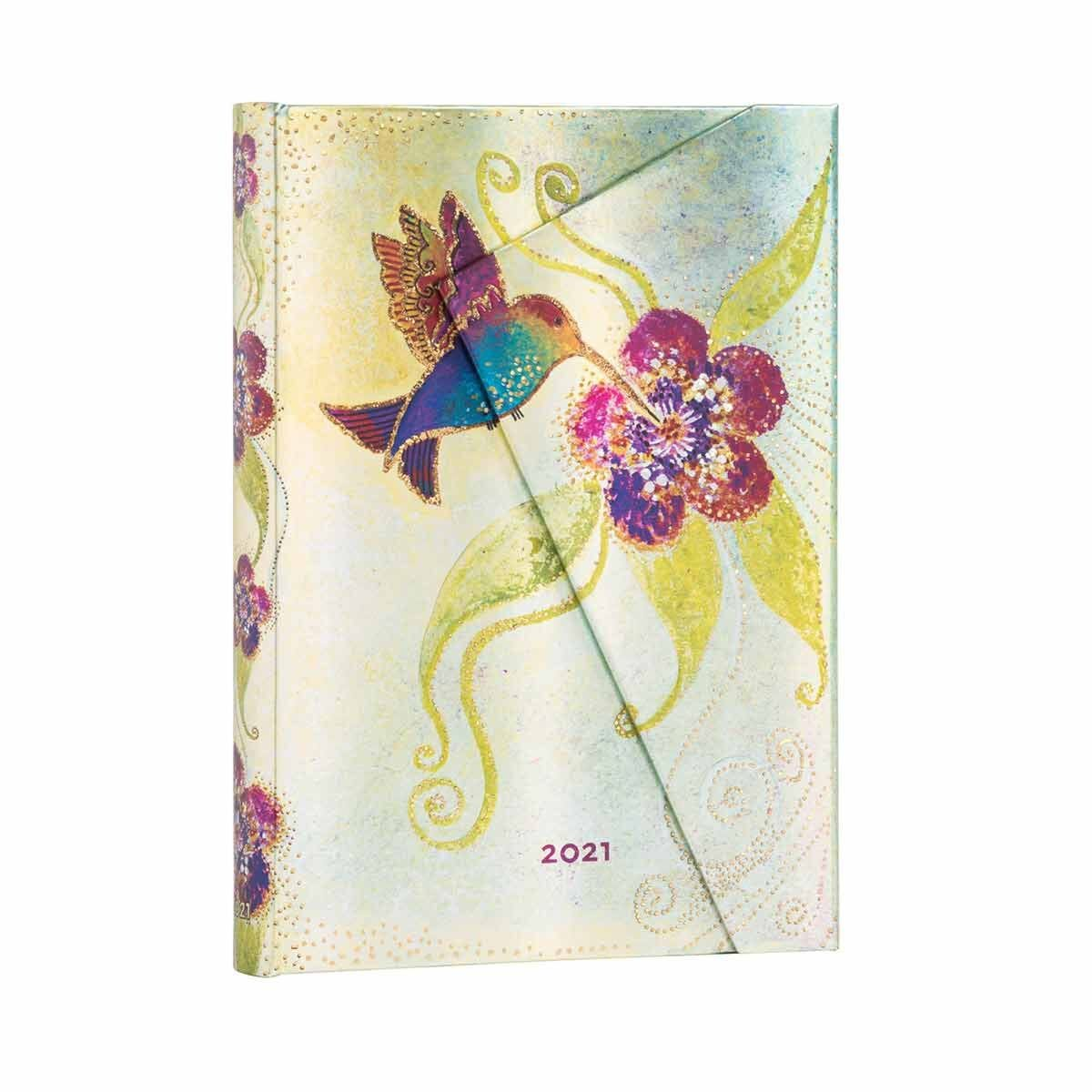 Paperblanks Hummingbird Diary Day to View Midi 2021
