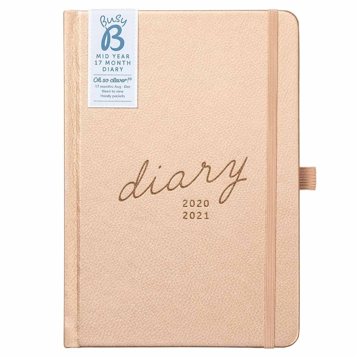 Busy B Busy Life Diary 17 Month Day to View A5 2020-2021