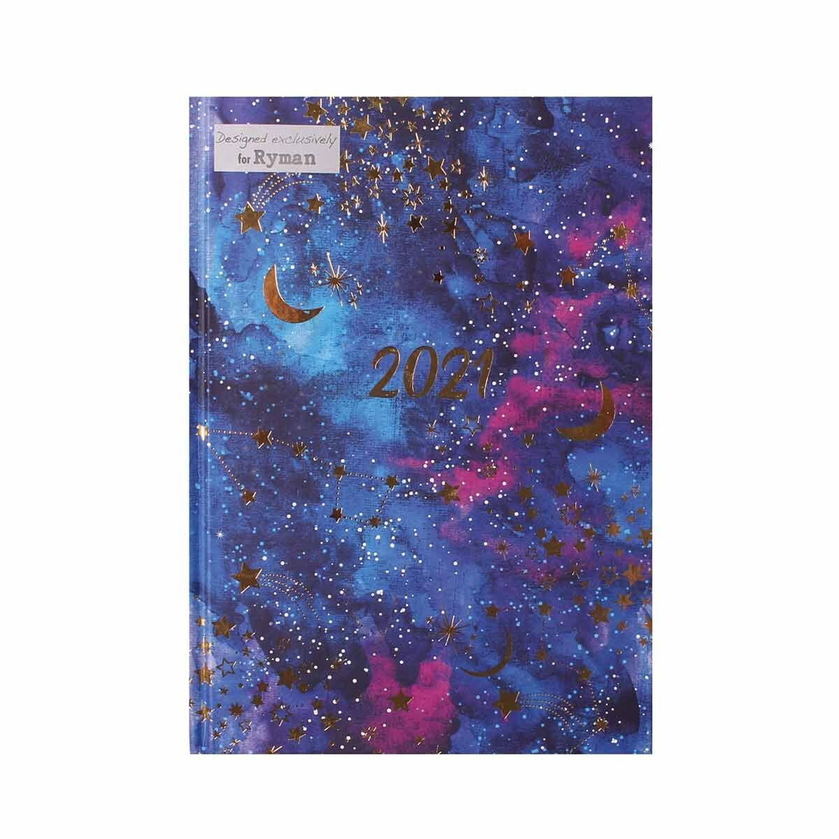 Ryman Constellation Diary A5 Week to View 2021
