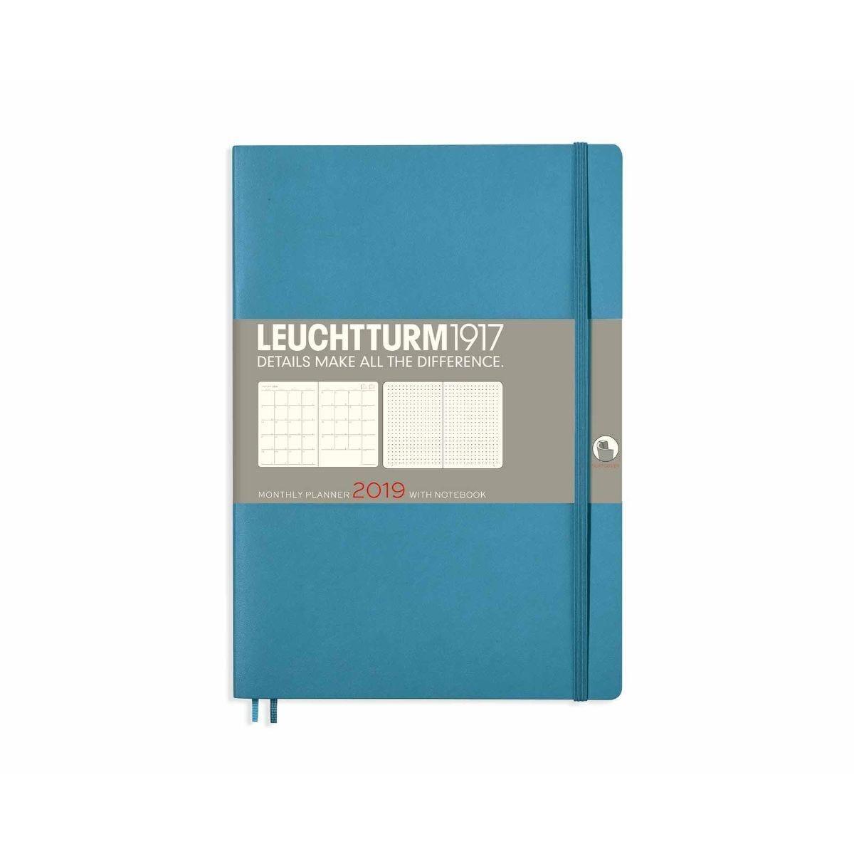 Leuchtturm Monthly Planner B5 2019 Nordic Blue