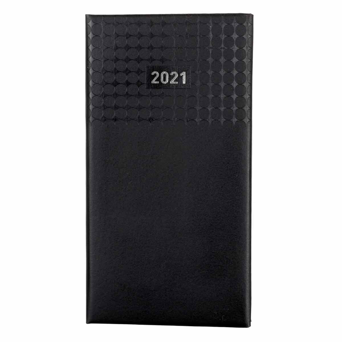 Ryman Langham Diary 2 Weeks to View Slim 2021 Black