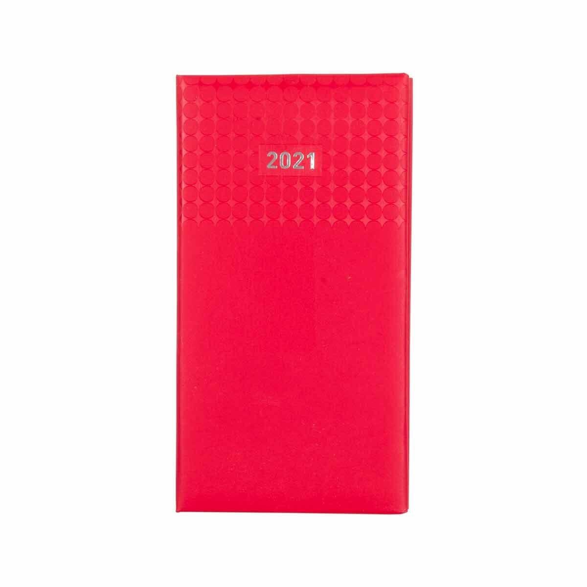 Ryman Langham Diary 2 Weeks to View Slim 2021 Red