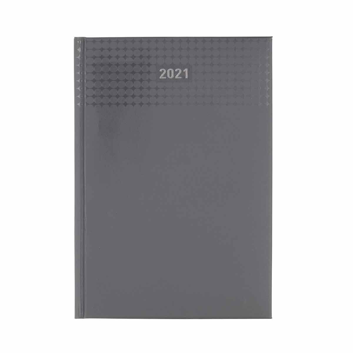 Ryman Langham Diary Week to View A5 2021 Grey