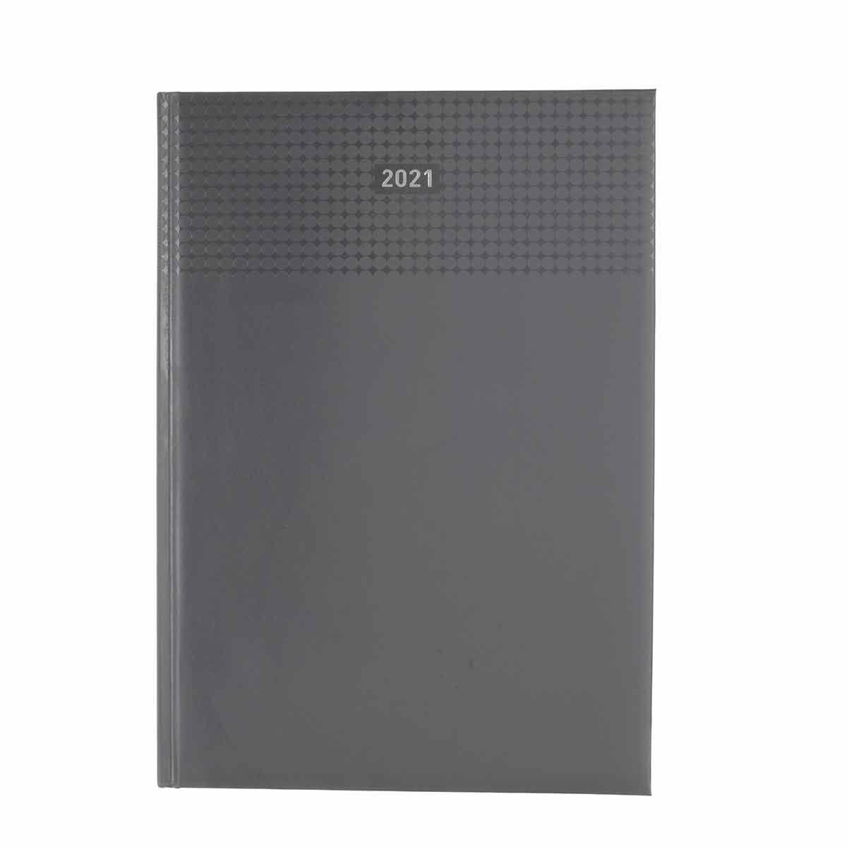 Ryman Langham Diary Week to View A4 2021 Grey