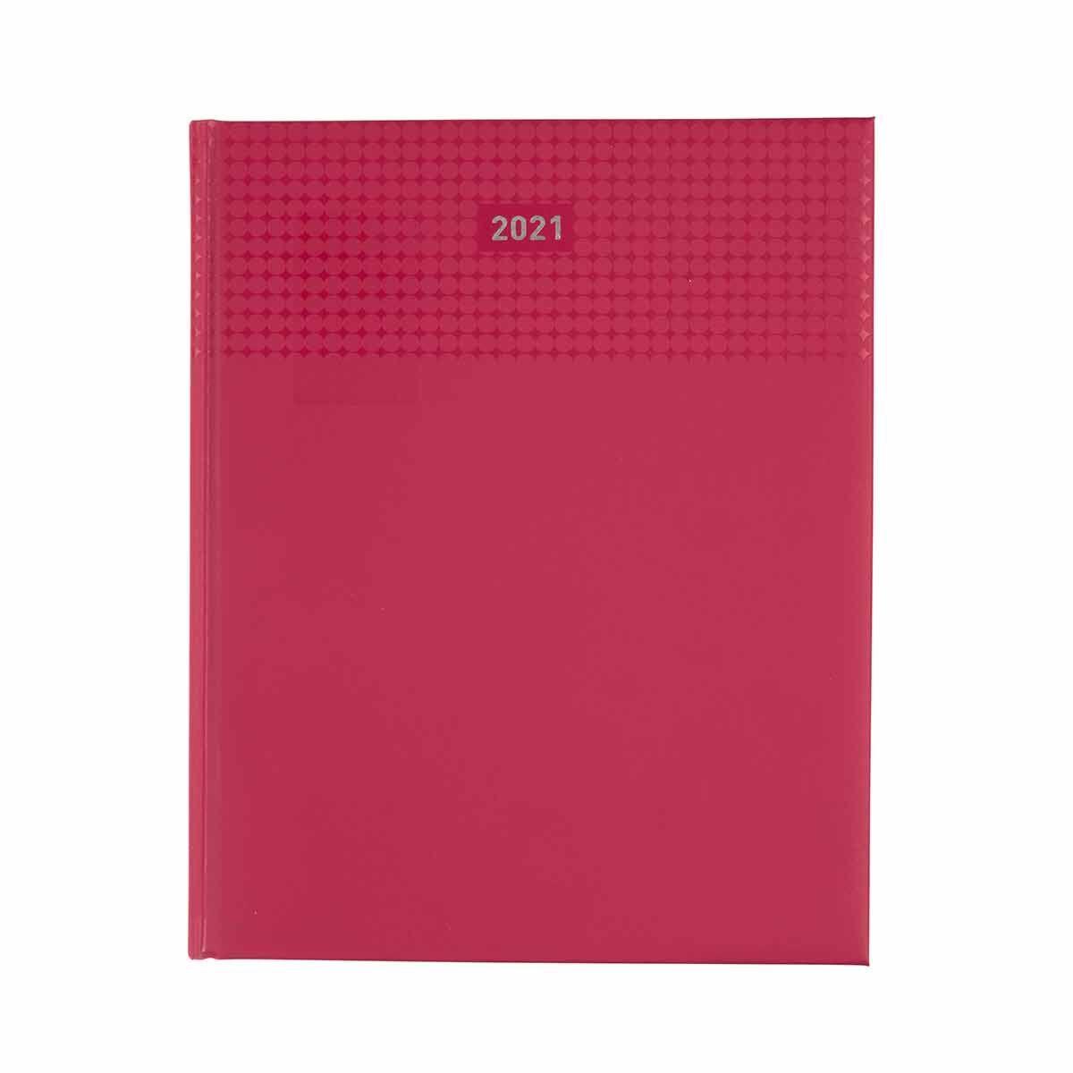 Ryman Langham Quarto Diary Week to View 2021 Red