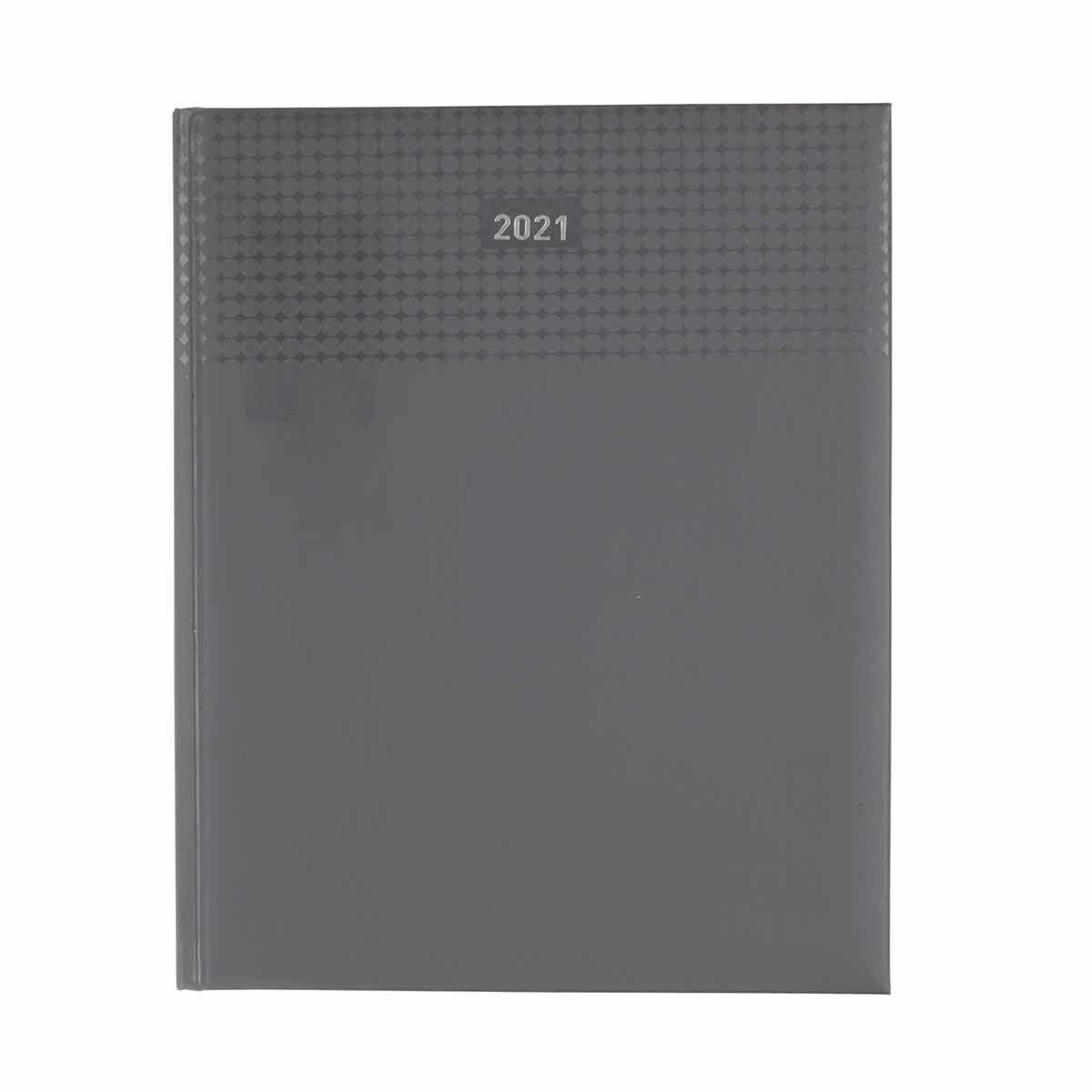 Ryman Langham Quarto Diary Week to View 2021 Grey