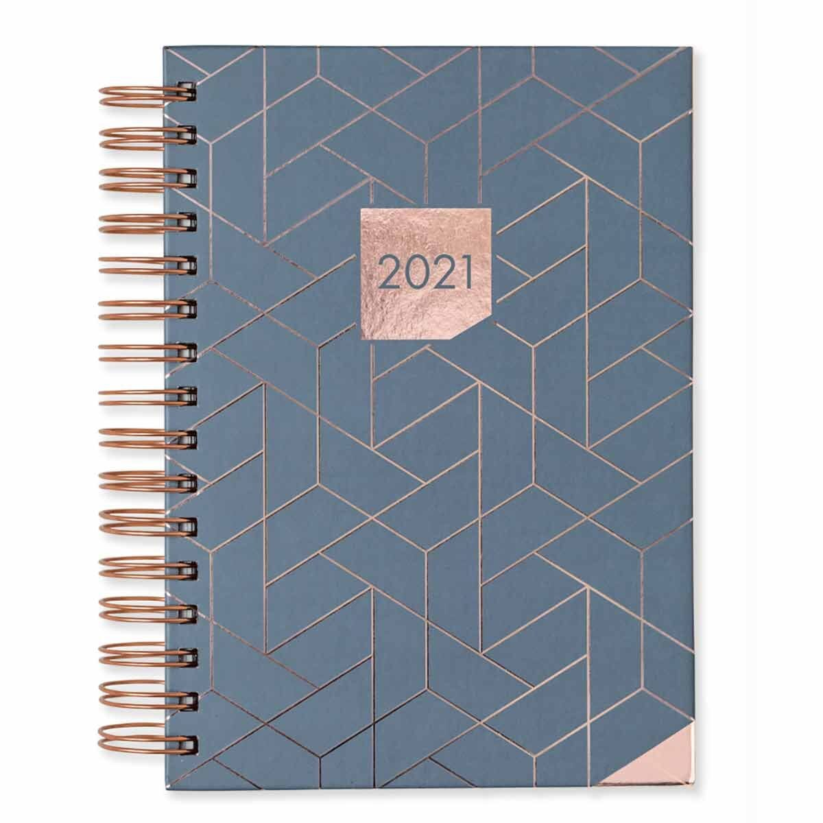Matilda Myres Hardback Diary Day to View A5 2021