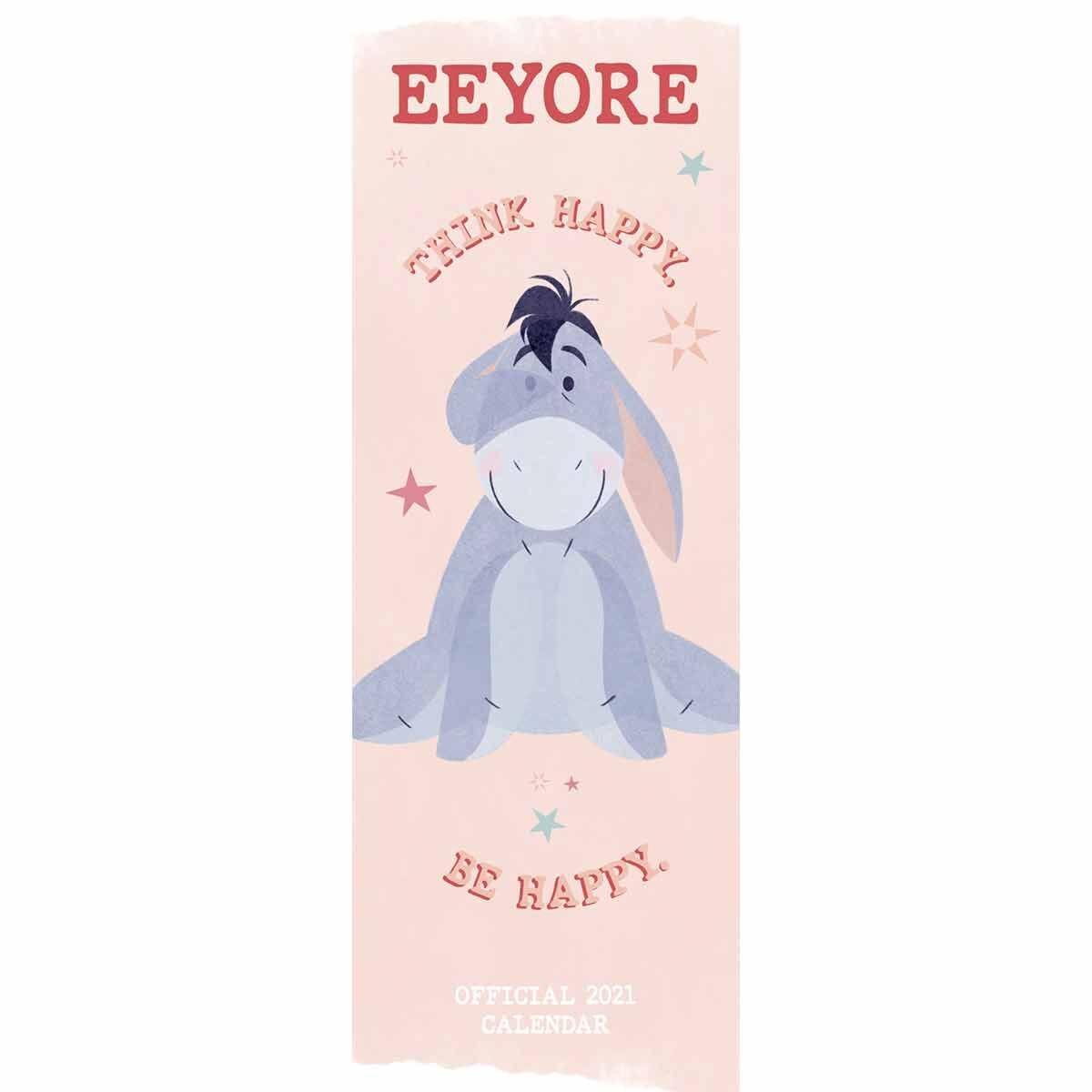 Eeyore Slim Calendar 2021
