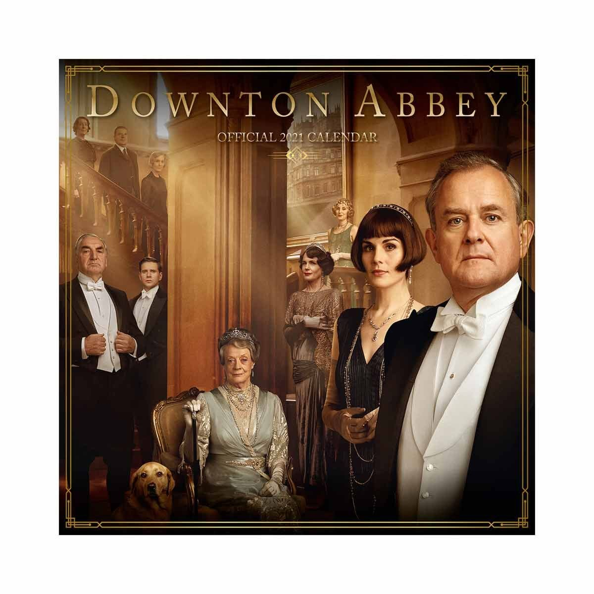 Downton Abbey Wall Calendar 2021