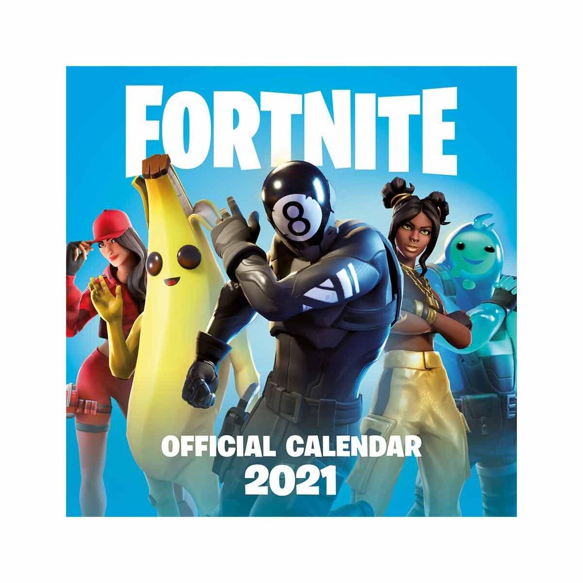 Fortnite Wall Calendar 2021