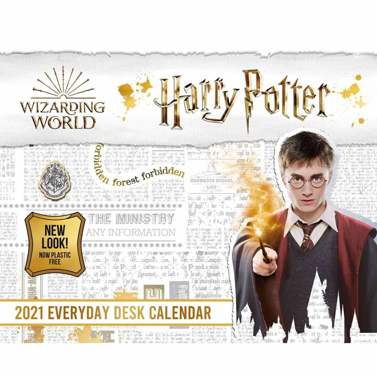 Harry Potter Desk Block Calendar 2021
