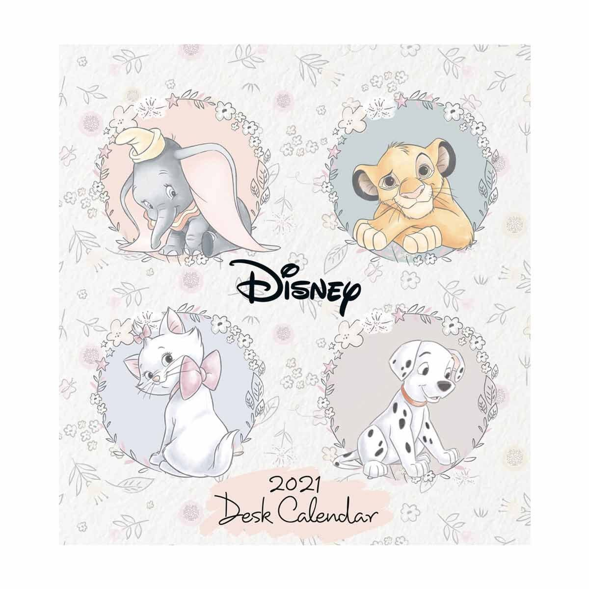 Disney Heritage Desk Easel Calendar 2021