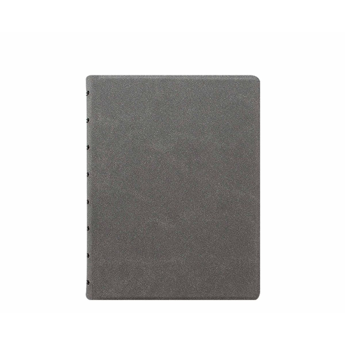 Filofax Refillable Notebook A5 Concrete Grey