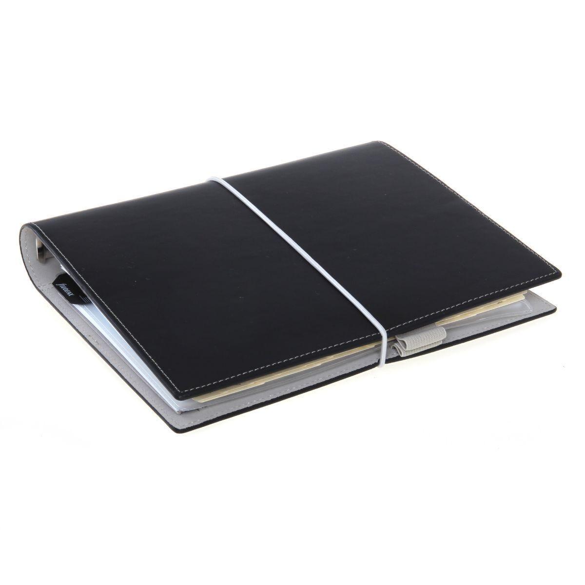 Filofax Domino Organiser A5 Black