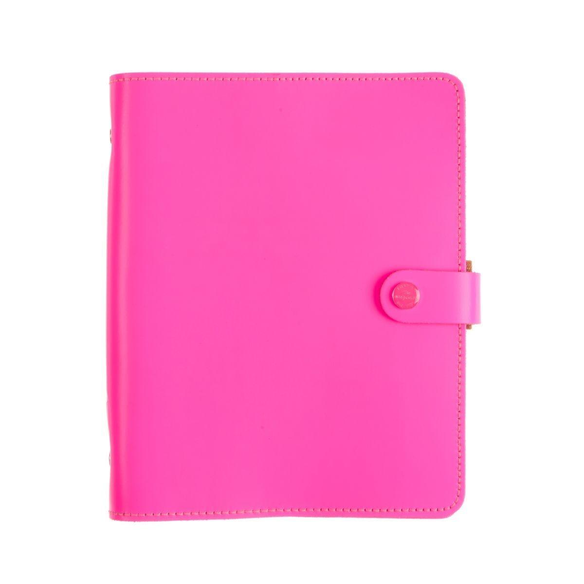 Filofax A5 Organiser Original Florescent Pink
