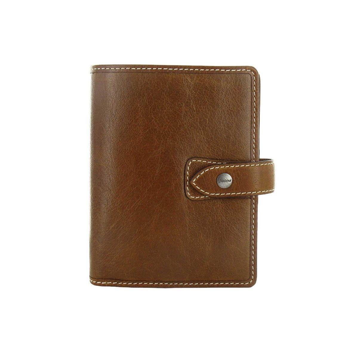 Filofax Pocket Organiser Malden Ochre