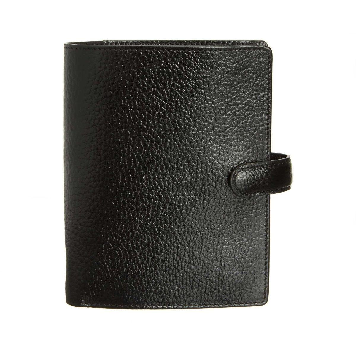 Filofax Finsbury Pocket Organiser Black