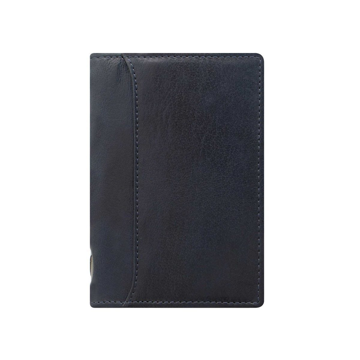 Filofax Pocket Slim Organiser Lockwood Navy