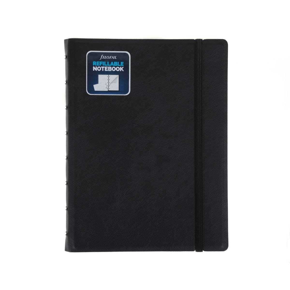 Filofax Refillable Notebook A5 Black