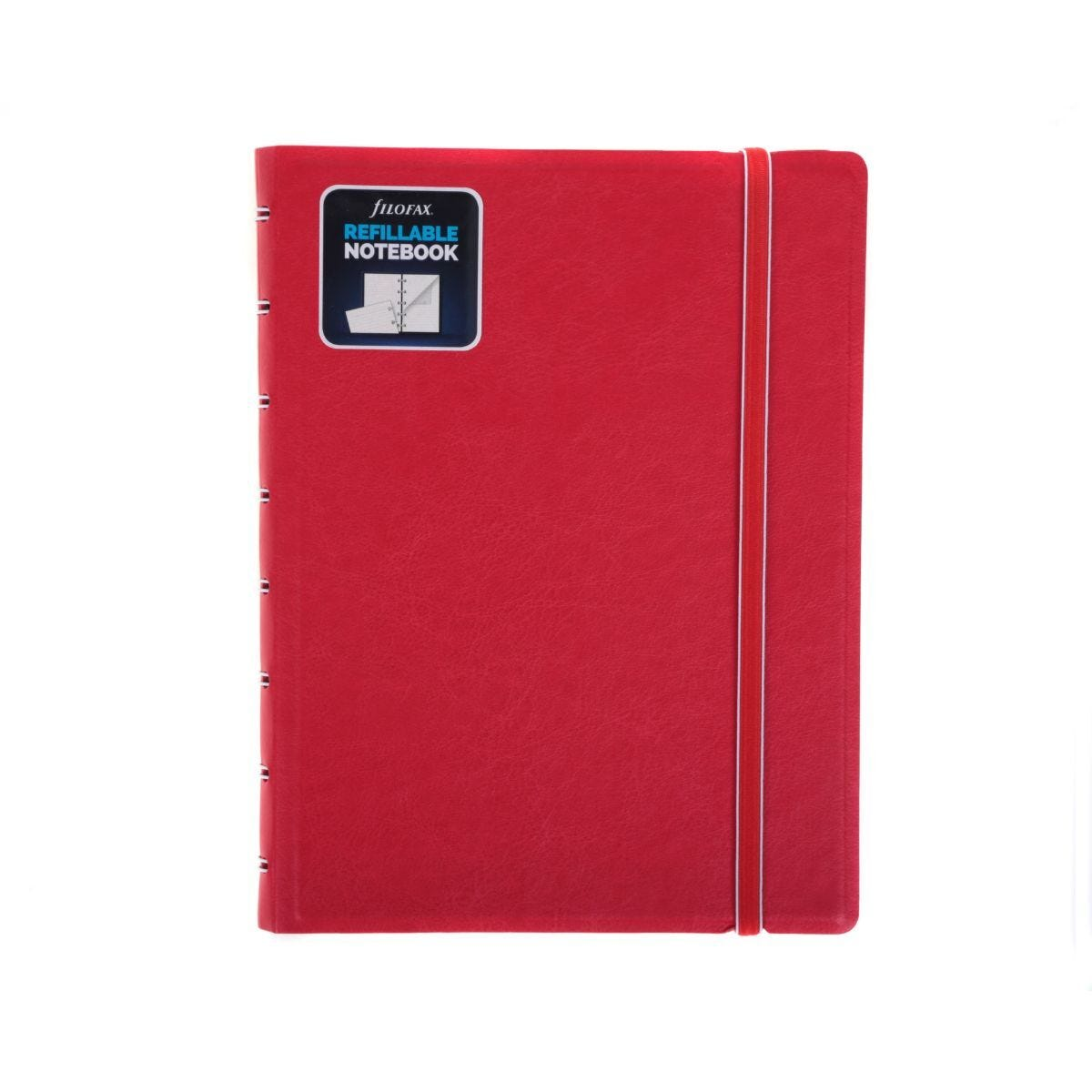 Filofax Refillable Notebook A5 Red