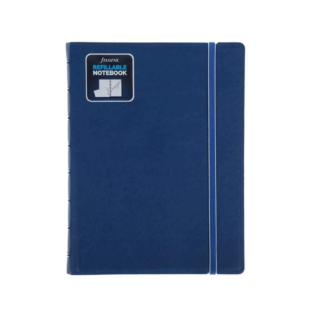 Filofax Refillable Notebook A5 Blue