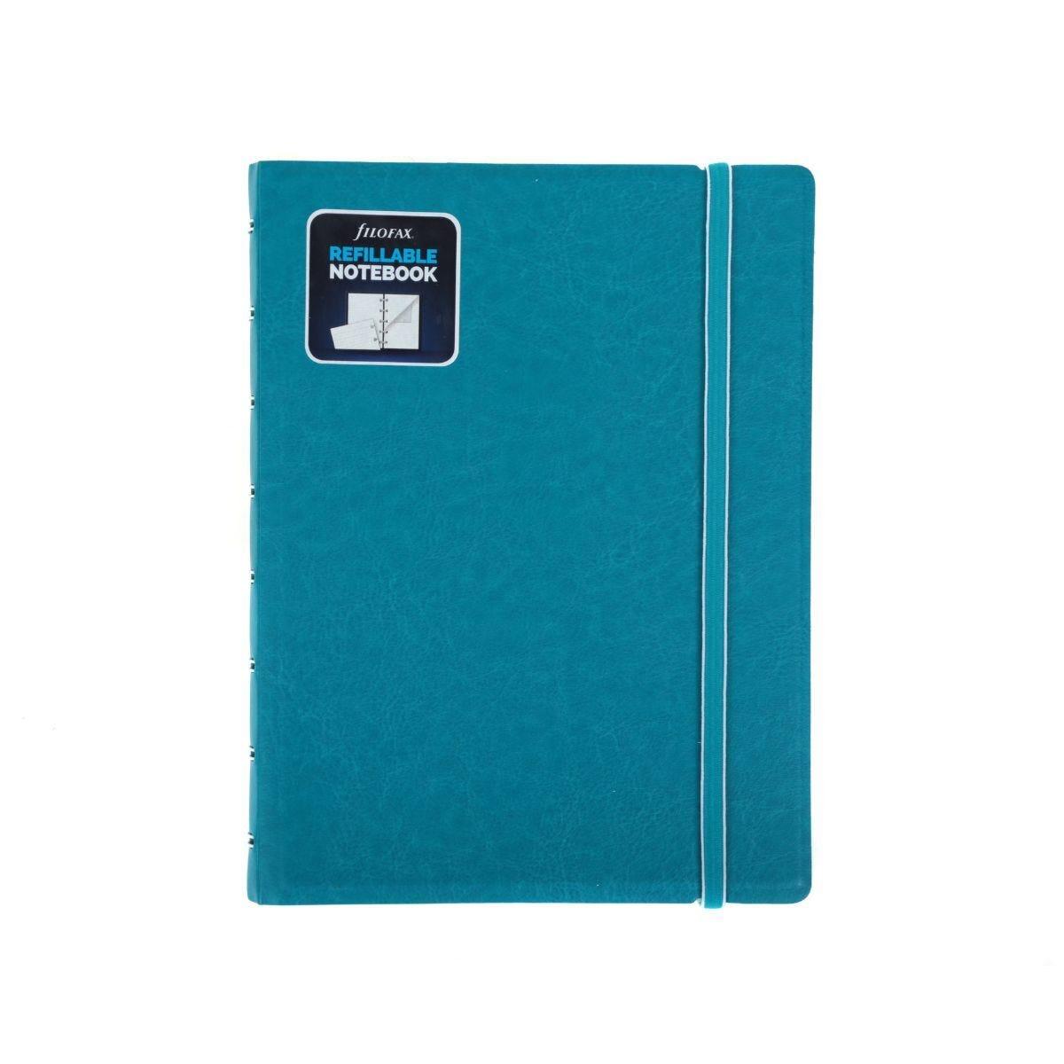 Filofax Refillable Notebook A5 Aqua