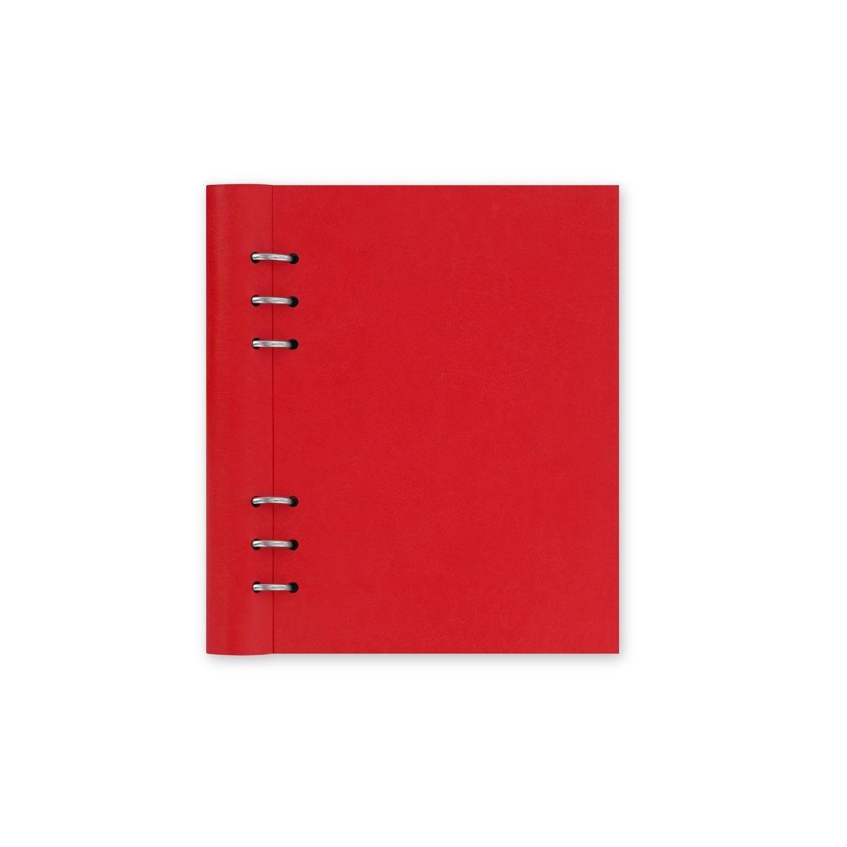 Filofax Refillable Clipbook Planner A5 Poppy