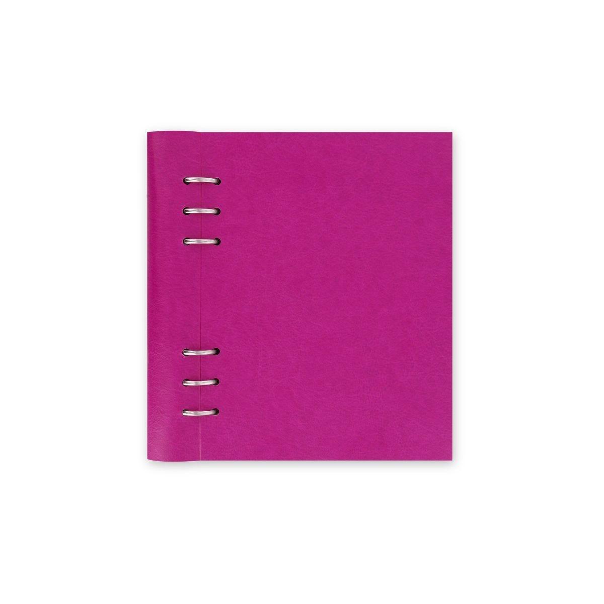 Filofax Refillable Clipbook Planner A5 Fuchsia