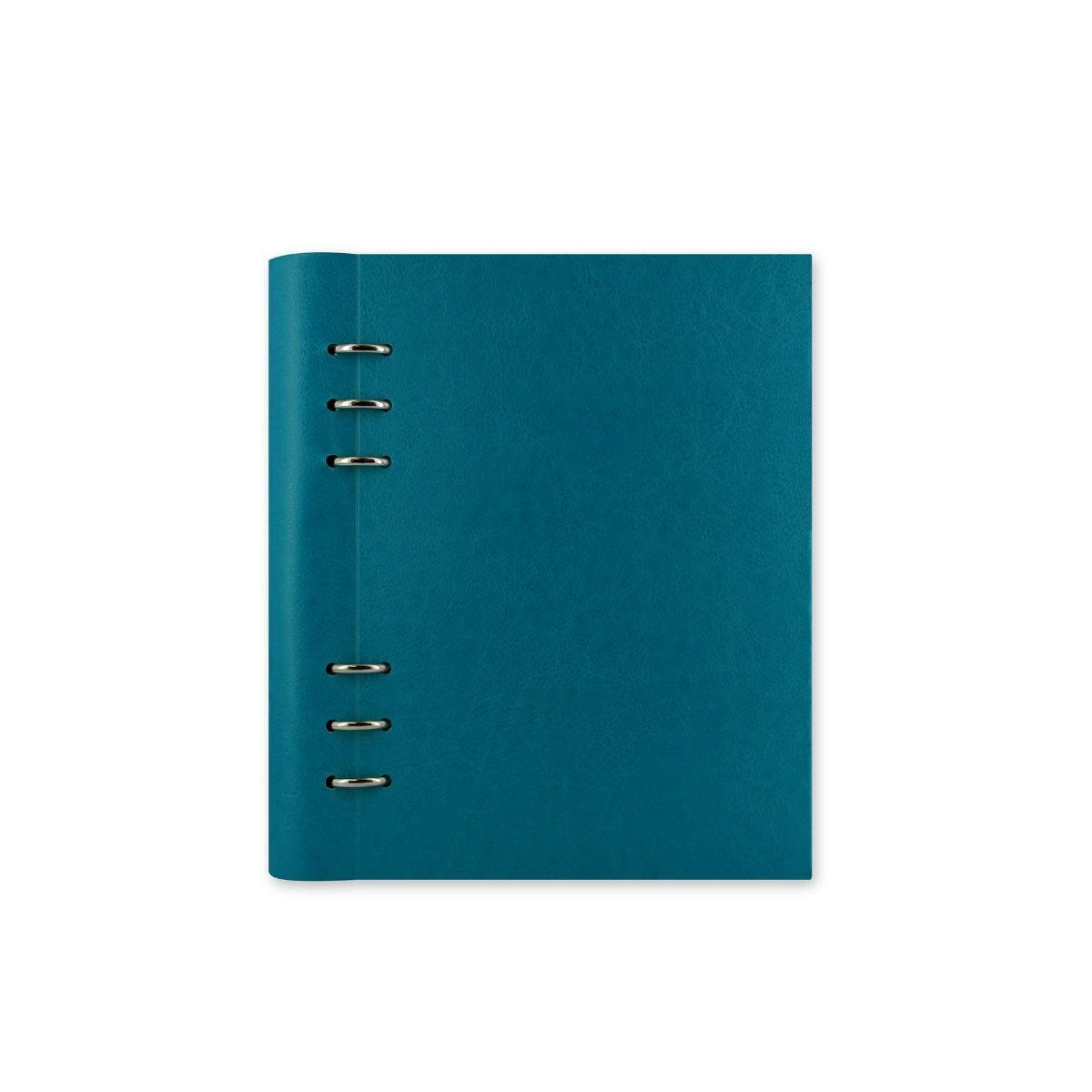 Filofax Refillable Clipbook Planner A5 Petrol Blue