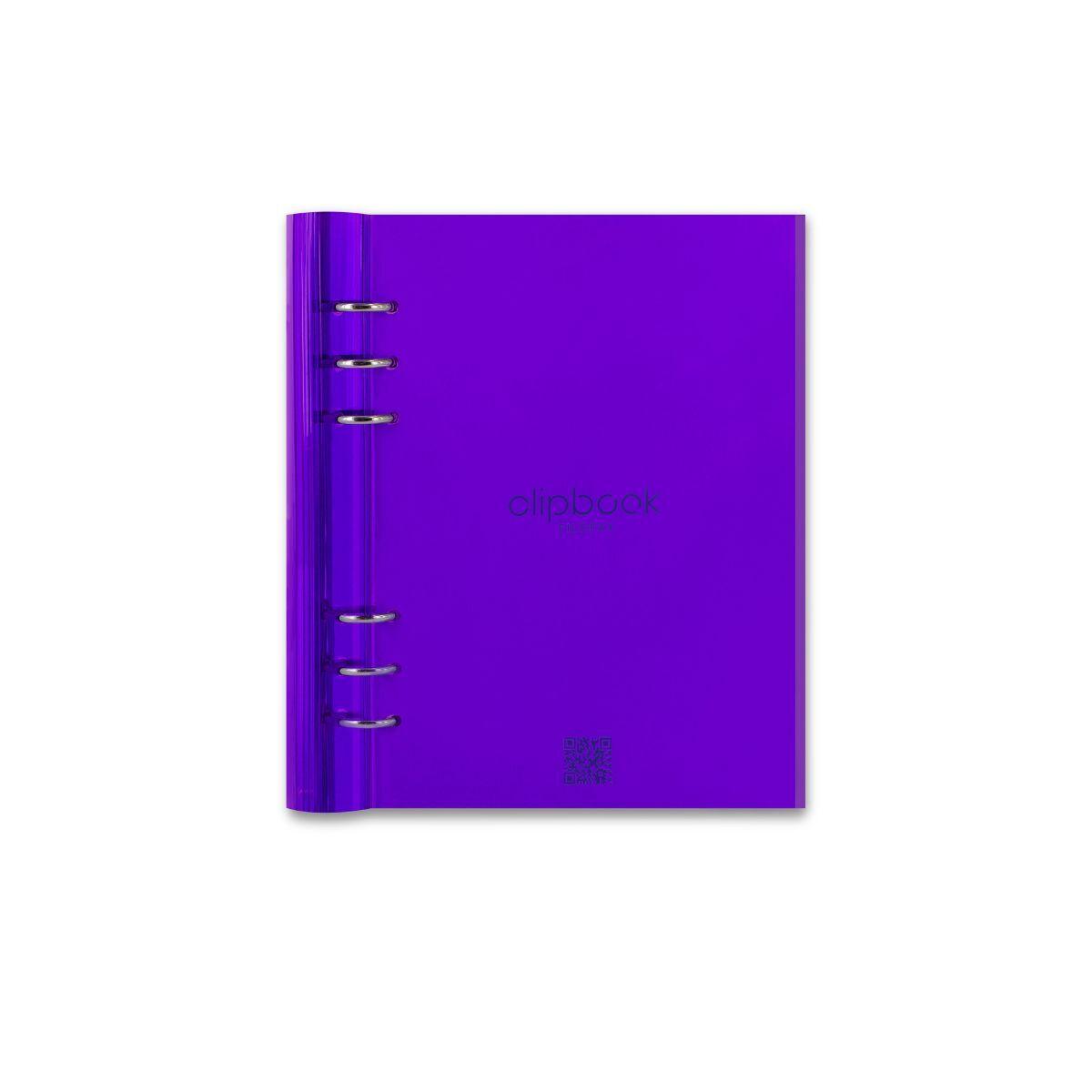 Filofax A5 Clipbook Purple