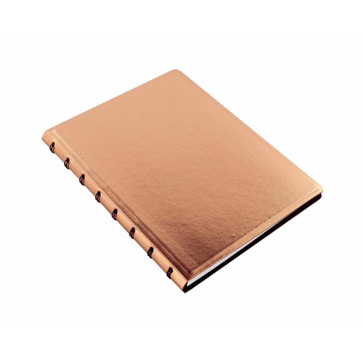 Filofax Refillable Notebook A5 Rose Gold