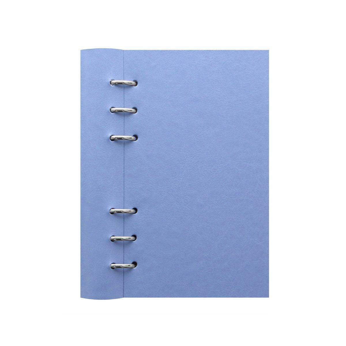 Filofax Refillable Clipbook Planner Personal Blue